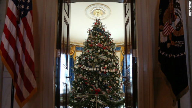 Good cheer, perhaps, but no cliff talks scheduled for White House holiday party