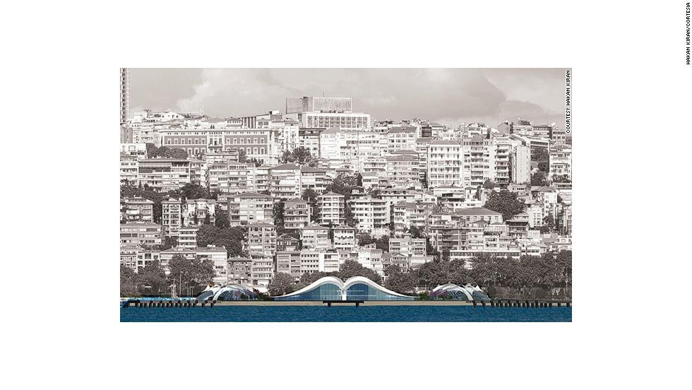 """Una """"gaviota"""" adornará el estrecho en Turquía"""