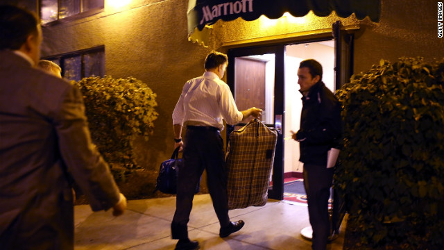 Romney re-joins Marriott's corporate board