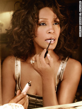 "A new book of photographs, ""Whitney: A Tribute to an Icon,"" was released last week.<br/><br/>""This was just shot in the bedroom,"" said Randee St. Nicholas, who curated the project and took many of the pictures in the book. ""What I wanted to do with this shoot -- and I'm so happy I had the time to do it -- was just give a well-rounded perspective of her."" <br/><br/>""She's not smiling and she's not dancing, which is what she did all day and every day. And when you're trying to shoot her, she's always dancing and singing, which is really fun. But every now and then, you want to get a more serious shot, just a moment where Whitney is more introspective. So that's what that setup was about.""<br/><br/>"