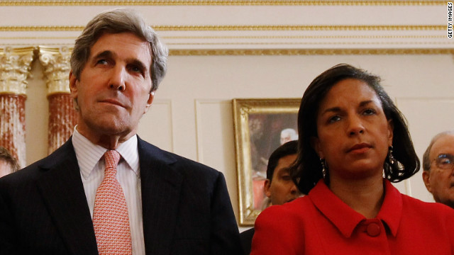 Susan Rice says country is 'fortunate' with Kerry nomination