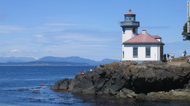 Lime Kiln Point State Park is located on San Juan Island, where fresh food and outdoor activities are at the top of the agenda.