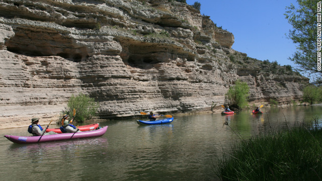 Wine lovers can actually kayak to some vineyards in the Verde Valley, a hot spot for wine makers in Arizona.