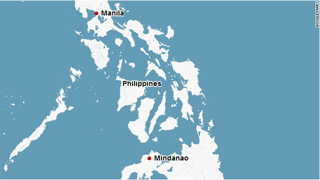 Map: Mindanao