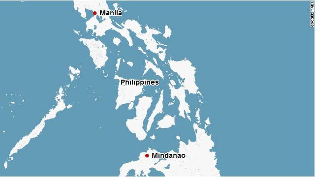 Map: Mindanao