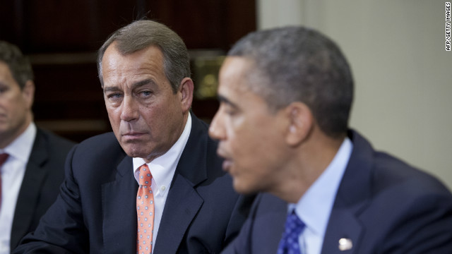Distance between Boehner, Obama continued at holiday party