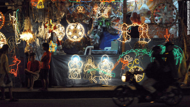 "Known as the country with ""the longest Christmas season in the world,"" Filipinos get the Christmas festivities rolling in September, and extend them well through January. The country's cities and islands are festooned with nativities, lantern parades, and Christmas bazaars."