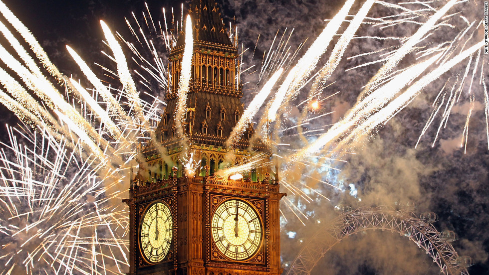<strong>January 1:</strong> Fireworks light up the London skyline just after Big Ben struck midnight, kicking off 2012. Photographers worldwide captured deadly conflicts, devastating storms, presidential politics and other memorable moments throughout the year. Click through the gallery to see 2012 unfold from beginning to end. Then check out <a href='http://www.cnn.com/2012/11/29/worldsport/gallery/2012-sports-moments/index.html' target='_blank'>75 amazing sports moments you missed this year.</a>