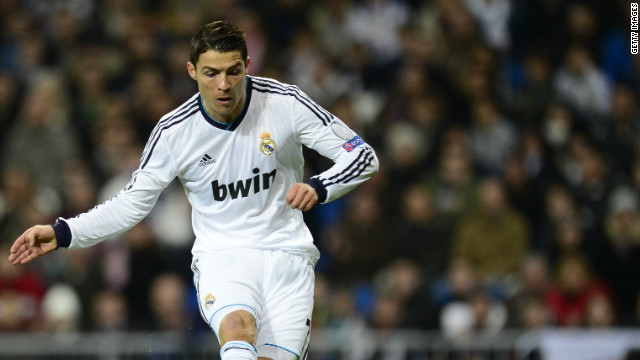 Cristiano Ronaldo opened the scoring for Real Madrid against Ajax to register his 61st goal of 2012. Real eased to a 4-1 win thanks to a brace from Jose Callejon and a Kaka strike.