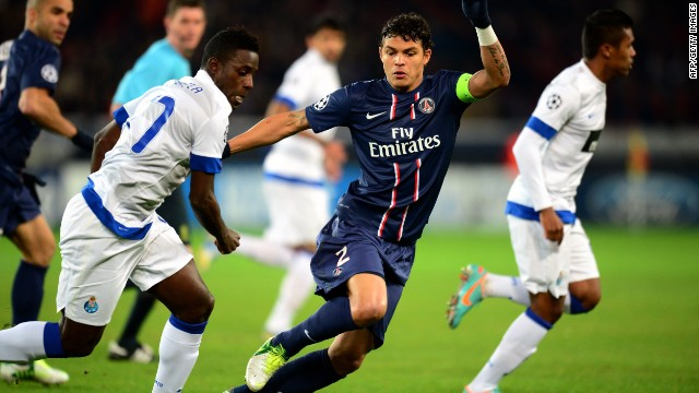 Like Ibrahimovic, Thiago Silva also joined PSG from AC Milan in 2012. The defender has gone on to become club captain, while he could also be the man to lift the World Cup for Brazil on home soil this summer.