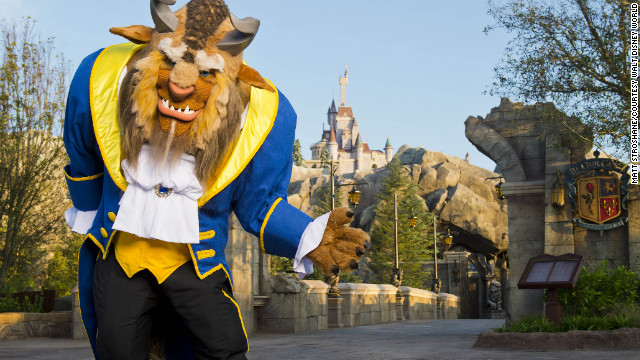 Beast's Castle in Walt Disney World's New Fantasyland houses Be Our Guest, the first restaurant within the Magic Kingdom to offer alcoholic beverages. &lt;br/&gt;&lt;br/&gt;