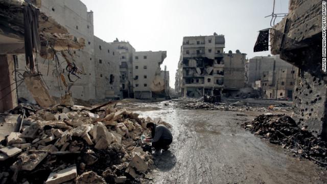 La habitantes que regresan a Aleppo solo encuentran ruinas y carestía