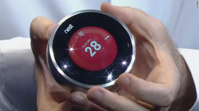 Tony Fadell's latest invention, the Nest thermostat, monitors your home and adjusts setting depending on your past usage.