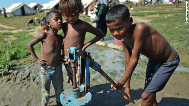 Charity: water builds water wells for communities in the developing world and is hoping to install 4,000 low-cost remote sensors.
