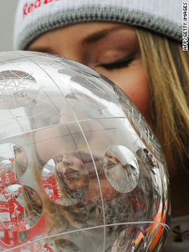 Vonn secured her first World Cup title in 2008. She set a new record for the most World Cup downhill victories in a season with 10. Vonn would go on to win it again two years in a row and now has four to her name.