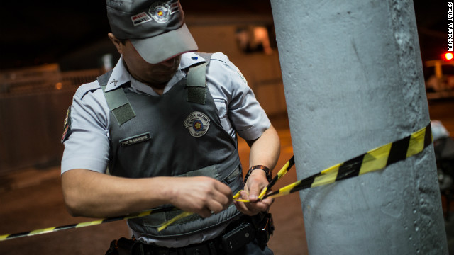 Brazil boosts World Cup security budget