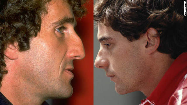 "Formula One's greatest rivalry was between Alain Prost and Ayrton Senna. ""They absolutely detested each other,"" Tu says. ""They were two very different personalities, and often that's one of the features of great sporting rivalries: Fire and ice."""