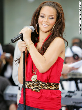 "The singer performs on NBC's ""Today"" in New York City in July 2006."