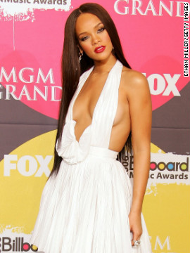 She poses in the press room after the 2006 Billboard Music Awards in Las Vegas.