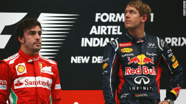 Fernando Alonso, left, has now twice been beaten to the F1 championship by Sebastian Vettel -- who is widely rumored to be his teammate at Ferrari come 2014. &quot;When you get two No. 1 drivers together with no team rules, then the sparks can really fly,&quot; Tu says. &quot;It's rare for them to be good mates. They may get along, they may trust and respect each other in a professional capacity, but hanging out is a different issue.&quot;