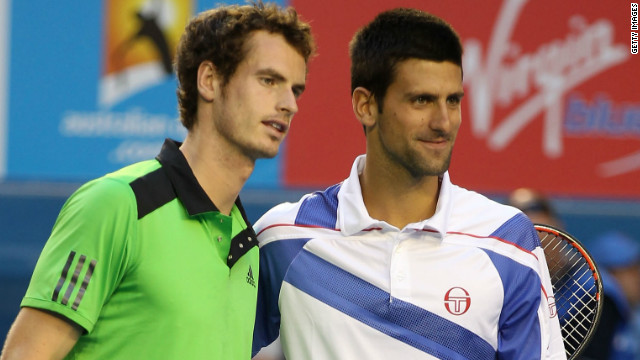 Andy Murray and Novak Djokovic have a growing rivalry at the top of men's tennis.