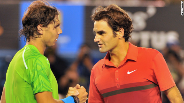 Rafael Nadal, left, ended the tennis dominance of Roger Federer but they have publicly expressed their friendship despite reports of arguments about on-tour issues. &quot;As people get older they've done so much, broken lots of records, I think that competitive edge is slightly dulled,&quot; Tu says. &quot;That makes it easier to be friendlier. You can keep your dignity if you're not crying every time you lose to a younger, faster athlete.&quot;
