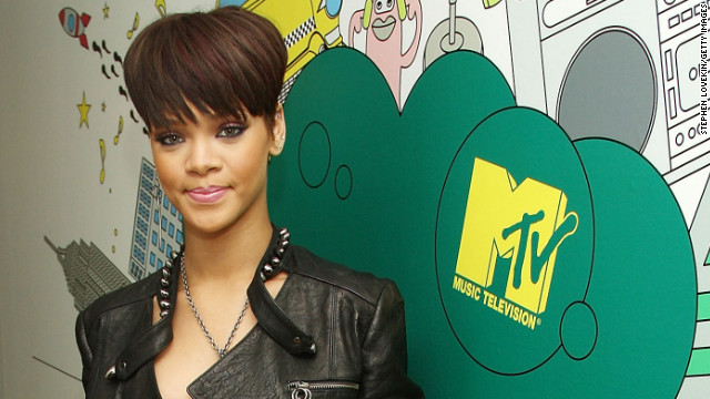 In June 2008, Rihanna once again visits &quot;Total Request Live.&quot;