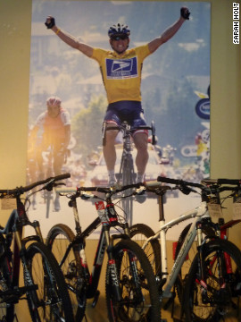 The Armstrong legend has helped turn Austin into a cycling-mad city.