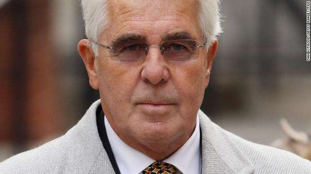 Reports: UK publicist Max Clifford held over sex offenses