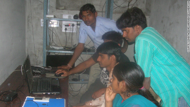 The aim is to democratize the availability of Internet access in India and address the lack of online content, product and services originating from rural areas.