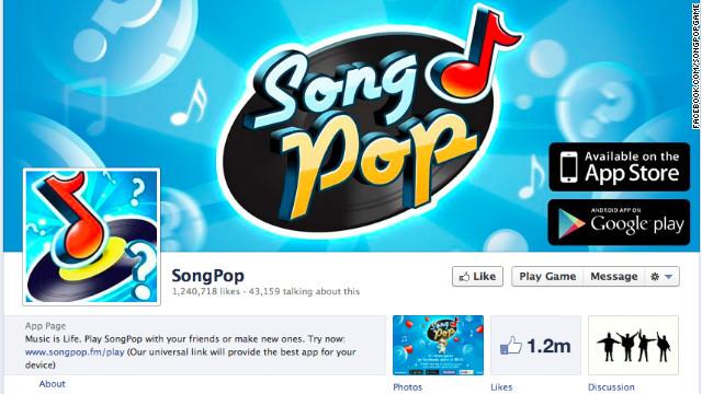 SongPop, el mejor juego de Facebook en 2012