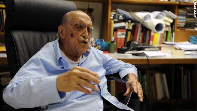 El arquitecto brasileño Óscar Niemeyer muere a los 104 años