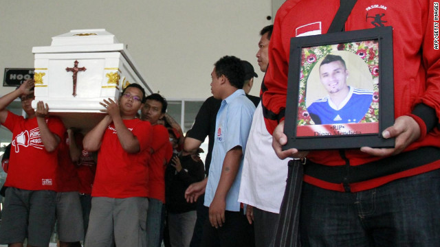Paraguayan player\'s Indonesian tragedy