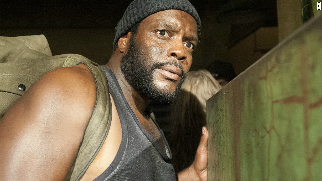 Overheard: 'Walking Dead's' new cast member on zombie co-stars