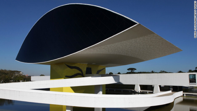 The first building of the <a href='http://www.museuoscarniemeyer.org.br/institucional/sobre-mon' target='_blank'>Oscar Niemeyer Museum</a> was designed by him in 1967. The museum, located in Curitiba, Brazil, first opened in 1978, but more than two decades later, further expansions were made and the museum was reopened in 2003.