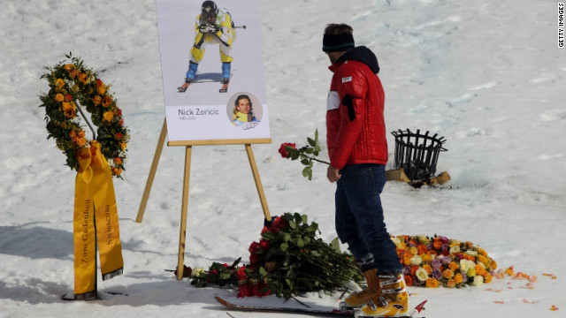 Tributes are paid to World Cup Ski Cross star Nick Zoricic after he was killed in an accident in an event in Grindevald in Switzerland in March 2012.