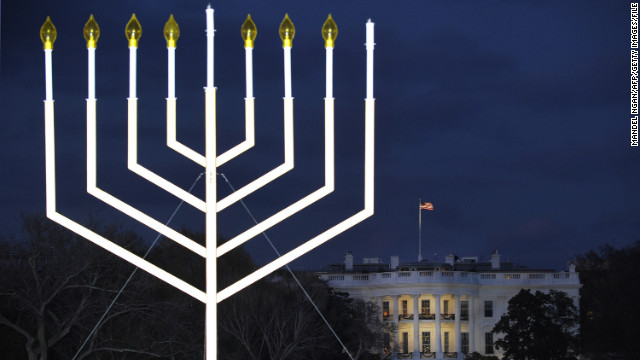 Lighting of national menorah marks the beginning of Hanukkah
