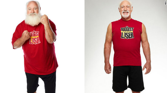 Roy Pickler, a professional Santa, dropped 88 pounds on 