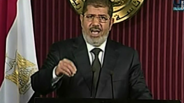 Morsy expresses sorrow for the 'lost lives and bloodshed' in unrest