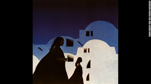 1968: Photographed by Harry Peccinotti in Tunisia