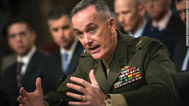 Joseph Dunford asume comando aliado en Afganistán