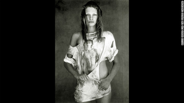 1998: Photographed by Bruce Weber in Miami