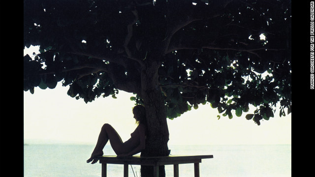 1971: Photographed by Francis Giacobetti in Jamaica