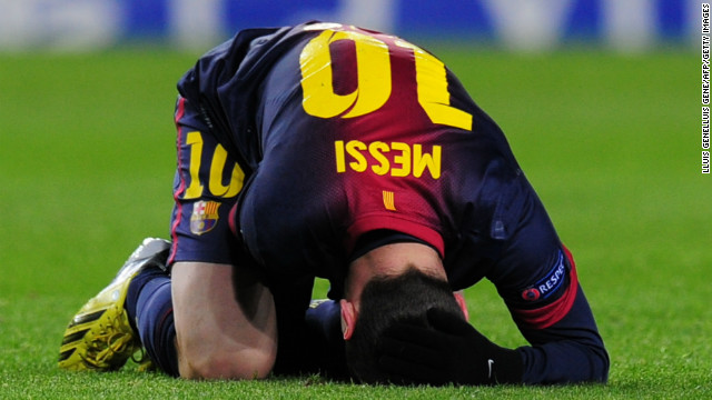 However, Messi was injured after coming on as a substitute during a Champions League match against Benfica -- but he made a quick recovery to be fit for the Betis game.