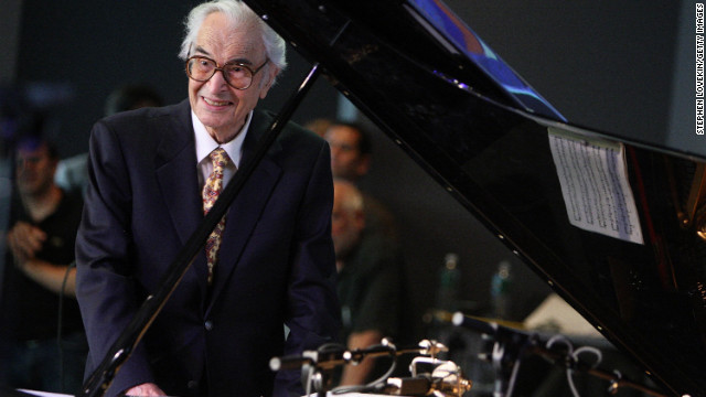 Jazz pianist <a href='http://marquee.blogs.cnn.com/2012/12/05/jazz-great-dave-brubeck-dies-at-91/' target='_blank'>Dave Brubeck</a>, 91, died December 5 from heart failure, said his manager, Russell Gloyd.