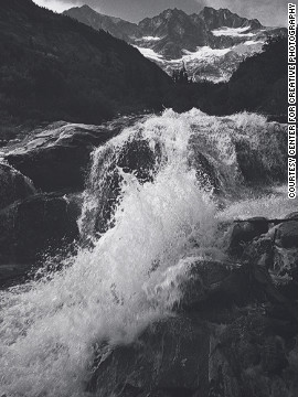 Waterfall, Northern Cascades, Washington, 1960.