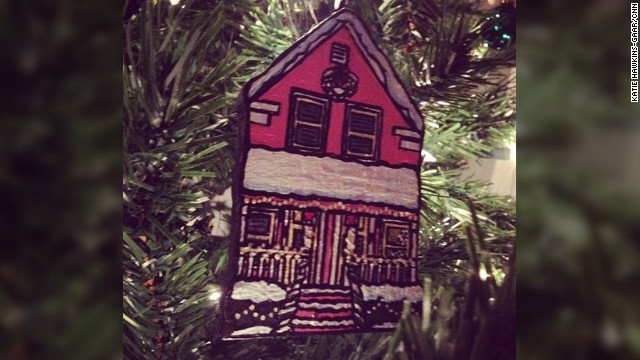 &quot;My brother gave me an ornament version of MY HOUSE for Christmas last year. So sweet and awesome. It ranks among the best gifts I've ever gotten!&quot; -- Katie Hawkins-Gaar (@katiehawk), CNN iReport senior producer 