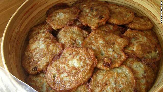 Nathan, who has won numerous awards for her cookbooks dedicated to Jewish cuisine, says that while she has added many different ingredients to her latke recipes -- including zucchini, beetroot, sweet potato, celery root, and apple-horseradish -- her favorite is still the simple potato.