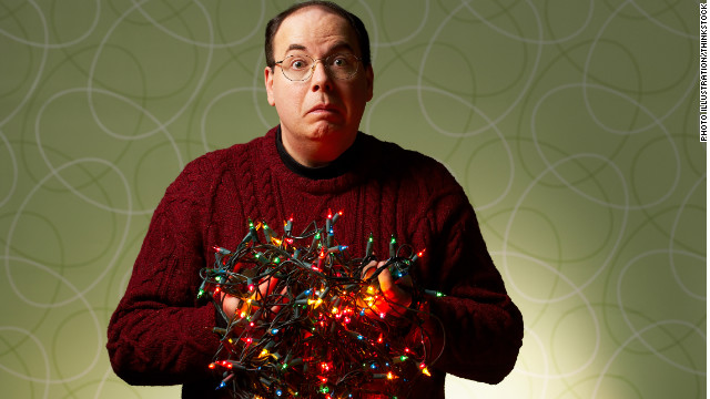 Sipping cocktails while hanging Christmas lights could lead to a fall, say some ER doctors.