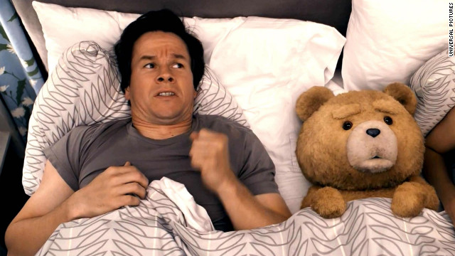 "The premise behind Seth MacFarlane's ""Ted"" had the potential to be either hilarious or hilariously awful, but the movie became one of the summer box office's best. Starring Mark Wahlberg as a man who still hasn't let go of his relationship with his (raunchy) teddy bear, voiced by MacFarlane, <a href='http://www.cnn.com/2012/07/02/showbiz/movies/ted-magic-mike-box-office-ew/index.html?iref=allsearch' target='_blank'>""Ted"" was a risk that paid off well.</a>"